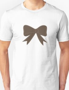 Brown bow Unisex T-Shirt