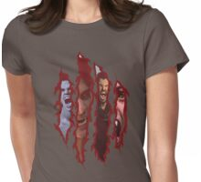 Claw Mark Teen Wolf Womens Fitted T-Shirt