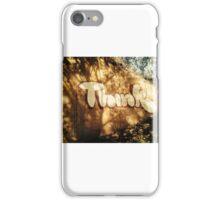 Think graffiti iPhone Case/Skin