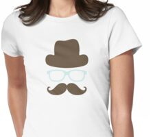Invisible man Womens Fitted T-Shirt