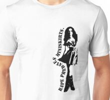 Rape Predates Miniskirts Unisex T-Shirt