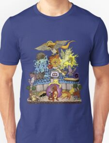 twitch plays pokemon red; the adventure remains! (color)  T-Shirt
