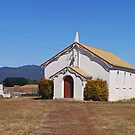 Church of the Holy Nativity, Bishopbourne, Tas. Australia by Margaret  Hyde