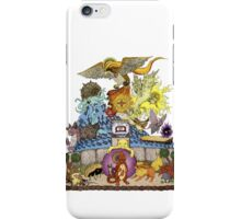 twitch plays pokemon red; the adventure remains! (color)  iPhone Case/Skin