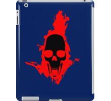 Flaming Vampire Skull iPad Case/Skin