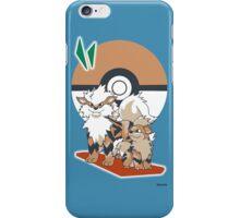 Pokemon Growlithe & Arcanine iPhone Case/Skin