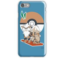 Pokemon Growlithe & Arcanine iPhone Case/Skin