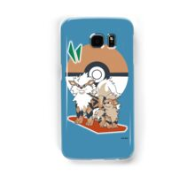 Pokemon Growlithe & Arcanine Samsung Galaxy Case/Skin