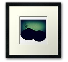 Lonely Car Dance Party Framed Print