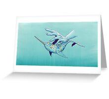 VIII - Narwhal Greeting Card