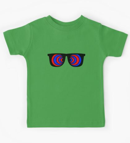 Trippy 3d Glasses Kids Tee