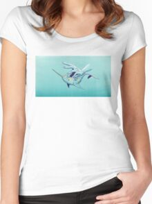 VIII - Narwhal Women's Fitted Scoop T-Shirt