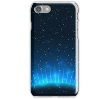 Vector illustration of Abstract blue background iPhone Case/Skin