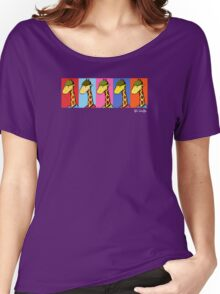 Art Giraffe- Andy Warhol Giraffe Women's Relaxed Fit T-Shirt