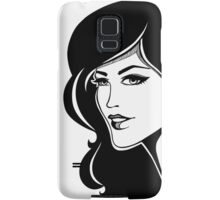 Beautiful woman Samsung Galaxy Case/Skin