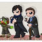 Sherlockian Evolution by redpawdesigns