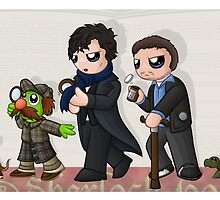 Sherlockian Evolution by redpawdesigns