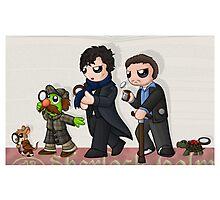 Sherlockian Evolution Photographic Print