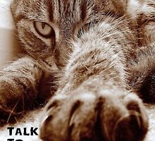 Talk to da Paw!! by Edge-of-dreams