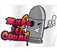 Make it Count Poster