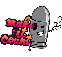 Make it Count Photographic Print