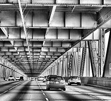 Bay Bridge-San Francisco by Rosalee Lustig