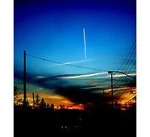 A Streaker.... Photographic Print