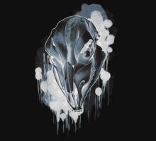 Cow Skull - Black by James Minson