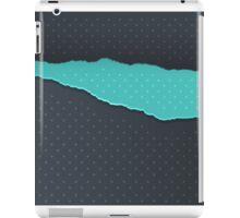 Paper background iPad Case/Skin