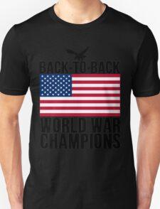 Distressed U.S. Flag & Eagle World War Champs T-Shirt