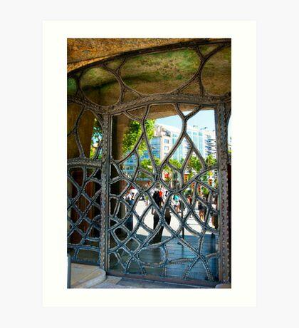 DOOR IN BARCELONA 5 Art Print