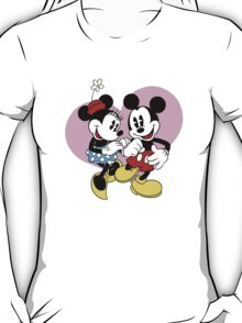 minnie and mickey mouse T-Shirt