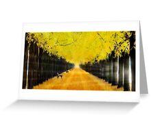 Autumn Dream Greeting Card