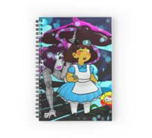 Undertale - Frisk in Wonderland Spiral Notebook