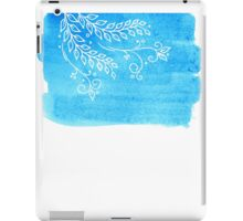 Watercolor floral iPad Case/Skin