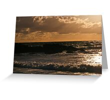 Sky & Water Pt. I Greeting Card