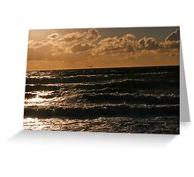 Sky & Water Pt. II Greeting Card