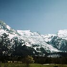 Mountains nr Chamonix France 198404270087 by Fred Mitchell