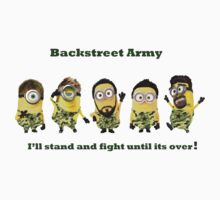 Backstreet Boy Soldiers  by Juju-ree