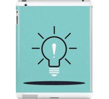 Idea ! iPad Case/Skin