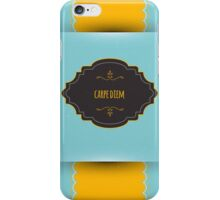 Design template back iPhone Case/Skin