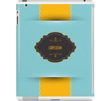 Design template back iPad Case/Skin