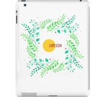 Watercolor floral design iPad Case/Skin