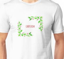 Watercolor floral design Unisex T-Shirt