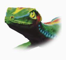 Gecko Lizard Close up 3d digital Art Kids Clothes