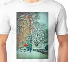 Singing In The Snow Unisex T-Shirt