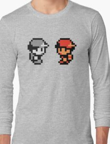 Red & AJDNNW Long Sleeve T-Shirt
