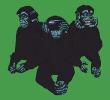 Monkey business One Piece - Short Sleeve