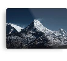 Fish tale Mountain. The himalayas Metal Print