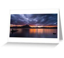 Lake Moogerah, Queensland Greeting Card